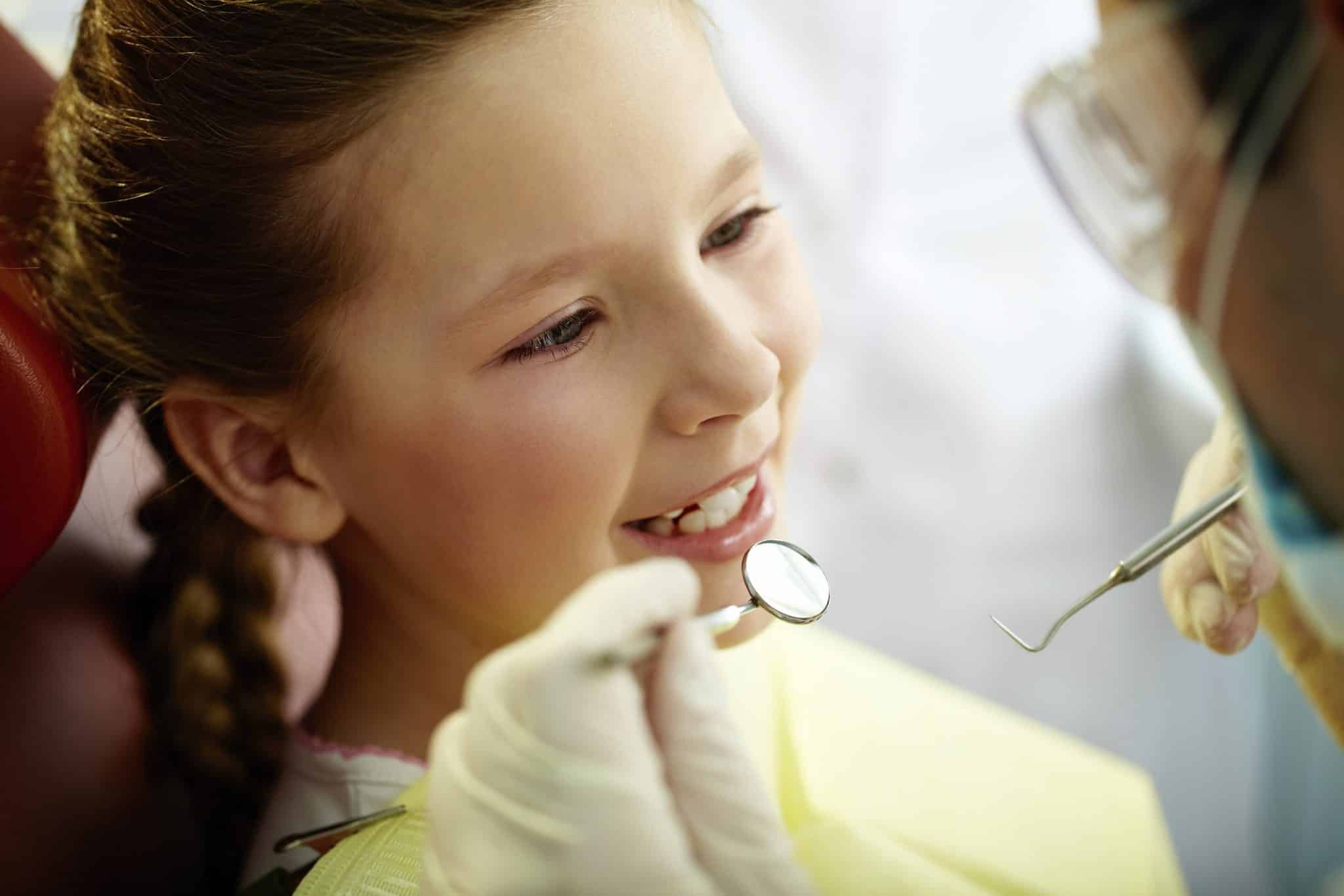 Start the school year with a smile and a visit to your kid's dentist!